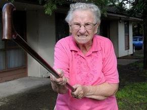 How Grandpa annoyed Grandma