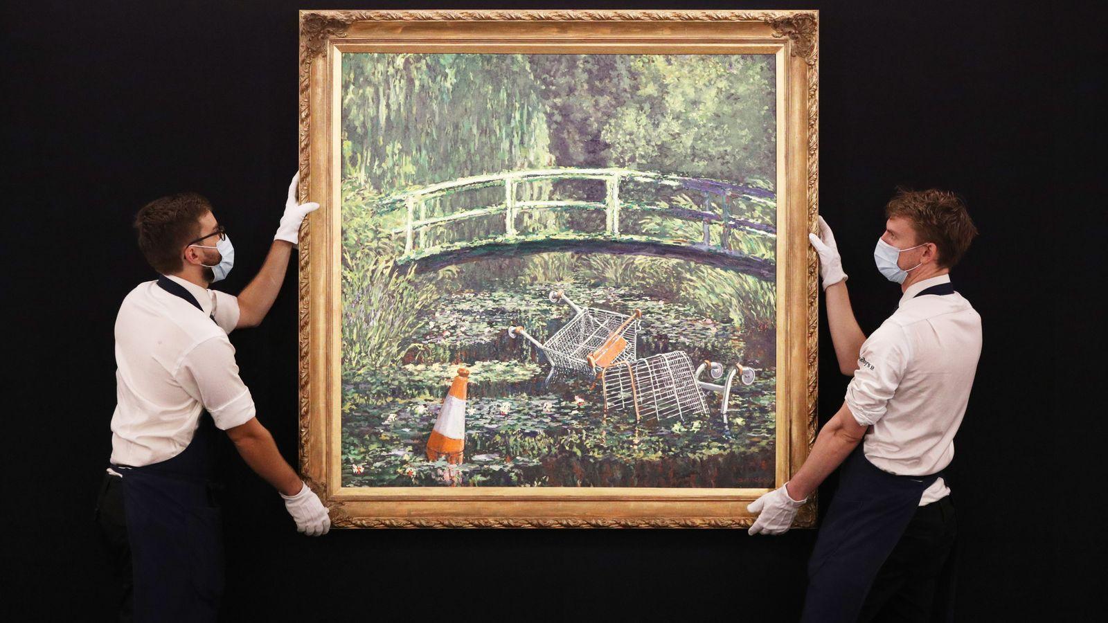 """""""Show me the Monet"""""""